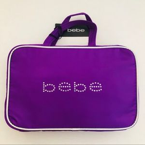 Bebe Weekender Bag Makeup Travel Case New